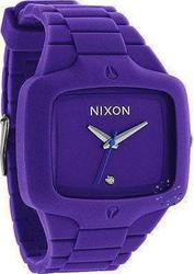 Nixon Rubber Player Purple Rubber Strap A139230