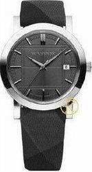 Burberry Black Dial and Leather Strap - BU1758