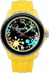 Angel Yellow Rubber Strap Watch AP0478Y1