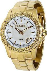 Symbol Crystal Gold Stainless Steel Bracelet SY9144PGW