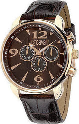 Just Cavalli Earth Rose Gold Brown Leather R7271681055