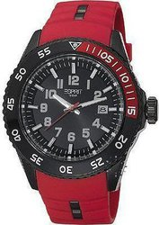 Esprit Varic Red Leather Strap ES103631003