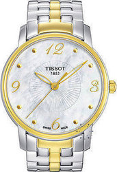 Tissot Τ-Trend Round Two-Tone Stainless Steel Bracelet T052.210.22.117.00