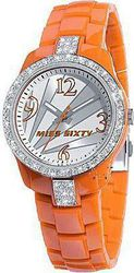 Miss Sixty Jungle Crystal Orange Plastic Bracelet SRA008