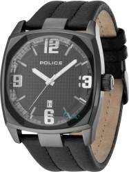 Police Edge Total Black Leather PL12963JSB-02