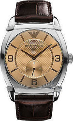 Emporio Armani Brown Dial and Leather Strap AR0338