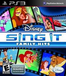 Disney Sing It: Family Hits PS3