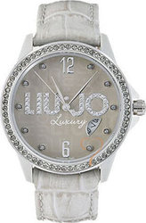 Liu Jo ColorTime Small Crystal Lady White Dial and Leather TLJ117