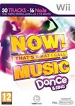 Now! That's What I Call Music: Dance & Sing Wii