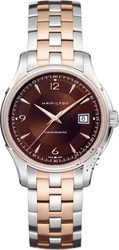 Hamilton Jazzmaster Viewmatic Two-Tone Stainless Steel Bracelet - H32655195