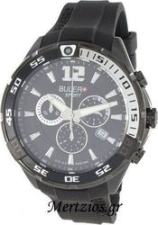 Buler Sport Black Rubber Chronograph SP01CR05