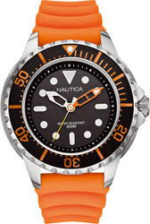 Nautica NMX 650 Orange Rubber Strap A18633G