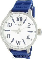 Versus by Versace City Blue Rubber Strap Watch 3C7070