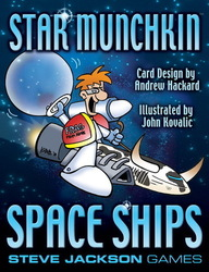 Steve Jackson Games Star Munchkin Space Ships Booster