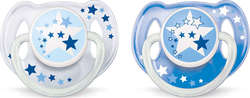 Philips Avent Night Time Pacifiers SCF176/22 6-18m 2τμχ