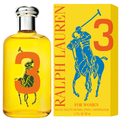 Ralph Lauren The Big Pony 3 For Women Eau de Toilette 50ml