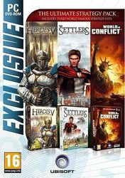 The Ultimate Strategy Pack (The Settlers Heritage of Kings & Heroes of Might & Magic 5 & World in Conflict) PC