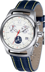 Iceberg Monza Blue Leather Strap - 524-34