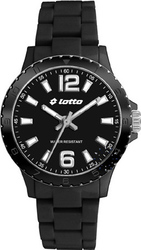 Lotto Black Plastic Bracelet - LU2161-03