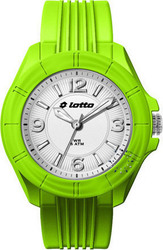 Lotto Light Green Silicon Strap - LU2148-07