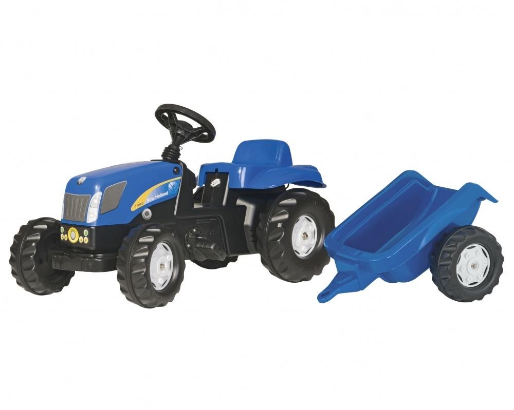 387560cdd77f Προσθήκη στα αγαπημένα menu New Holland Kids Pedal Tractor   Trailer