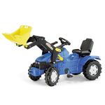 Rolly Toys New Holland Pedal Tractor with Rolly Trac Loader