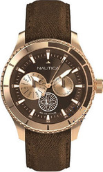Nautica BFD 200 Multi Brown Leather Strap - A21544G