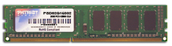 Patriot Signature 2GB DDR3-1600MHz (PSD32G16002)