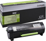 Lexmark 502 Black Toner Return (50F2000)