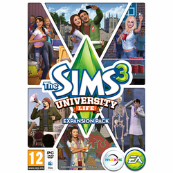 The Sims 3: University Life PC