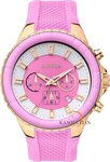 Breeze Air Hollywood Chrono Pink Rubber Strap - 110091.1