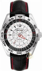 Sector Series 490 GMT Black World Time R2651491015