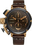 U-Boat Mens Chimera Autom. Chronograph Bronze Pvd 46 Mm U-51