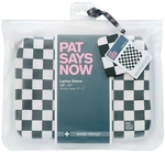 "Pat Says Now Laptop Sleeve Checker Flag 7""-9"" 7151"