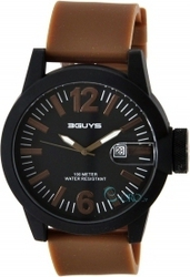 3Guys Brown Rubber Strap 3G12905