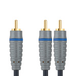 Bandridge Subwoofer Cable RCA male - 2x RCA male 2m (BAL4102)