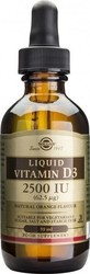 Solgar Vitamin D3 2500iu Liquid 59ml
