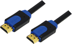 LogiLink HDMI Cable with Ethernet HDMI male - HDMI male 2m (CHB1102)