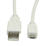 Roline USB 2.0 Cable USB-A male - micro USB-B male 0.8m (11.99.8754)