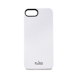 Puro Eco-leather Cover White (iPhone 5/5s/SE)