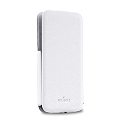 Puro Flipper Ultra Slim Case White (iPhone 5/5s/SE)