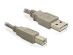 DeLock USB 2.0 Cable USB-A male - USB-B male 1.8m (82215)