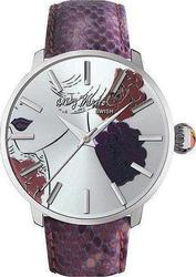 Andy Warhol Purple Genuine Python Strap ANDY119