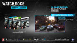 Watch Dogs (Special Edition) PC