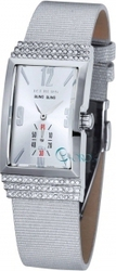 Iceberg Silver Leather Strap IC701-13