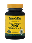Nature's Plus Zinc Di-Picolinate Complex 60 ταμπλέτες