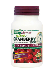 Nature's Plus Ultra 1500 Extended Release 30 ταμπλέτες Cranberry