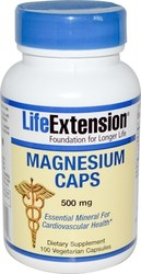 Life Extension Magnesium 500mg 100 φυτικές κάψουλες