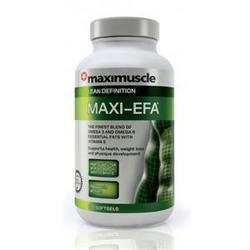 Maximuscle Maxi EFA 120 μαλακές κάψουλες