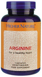 Higher Nature Arginine 120 κάψουλες